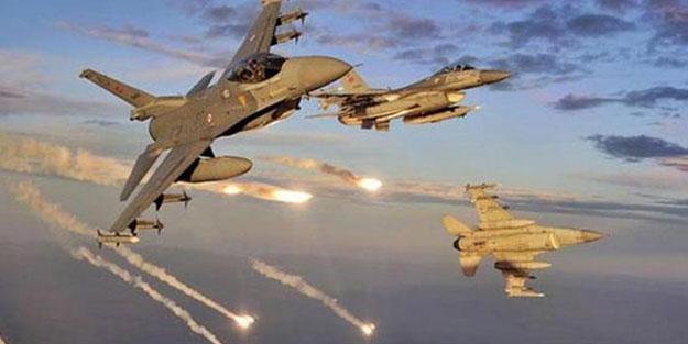 Türkiyə qırıcıları İraqın şimalında PKK terrorçularını bombaladı : Silah anbarları, sığınacaqlar məhv edildi