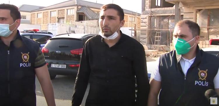 Mühafizəçini öldürüb pul oğurlayanların videosu yayıldı